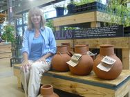 Lori and her ollas (Dripping Springs Ollas)